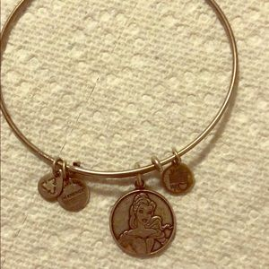 Alex and ani Belle bracelet, silver pre owned